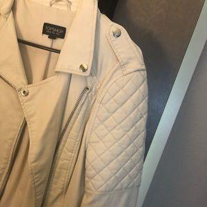 Topshop Jackets & Coats - Topshop Faux Leather Jacket